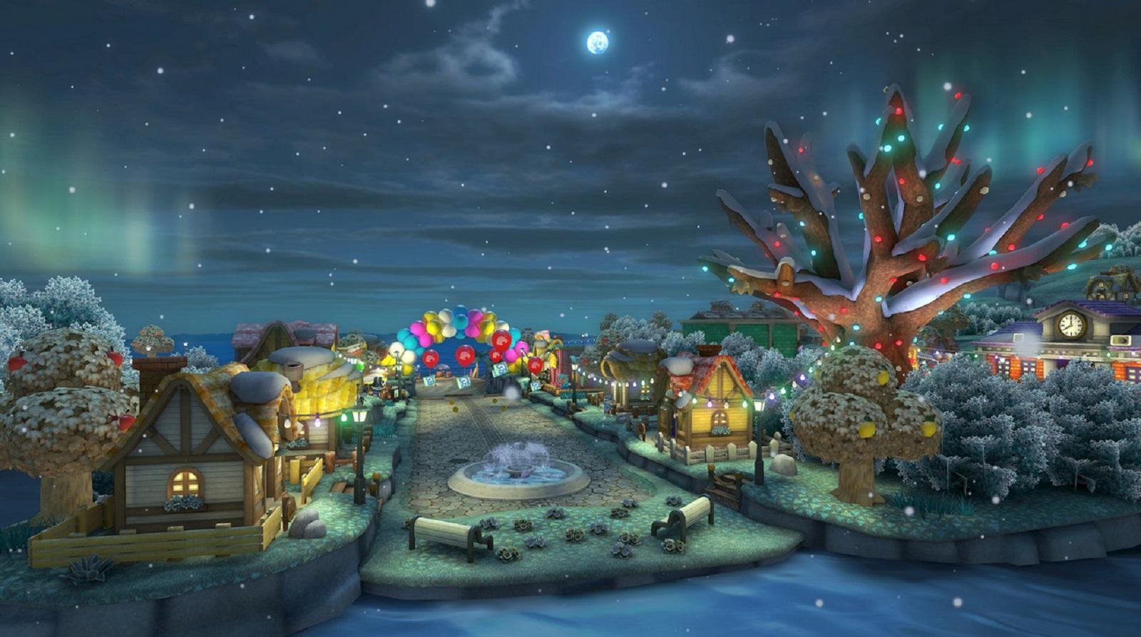 Mario Kart 8 Animal Crossing Tracks Gameplay Screenshot