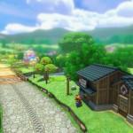 Mario Kart 8 Animal Crossing Tracks Gameplay Screenshot Deep Green Wii U