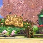 Mario Kart 8 Animal Crossing Tracks Gameplay Screenshot Pink Trees Wii U