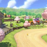 Mario Kart 8 Animal Crossing Tracks Gameplay Screenshot Village Museum Wii U