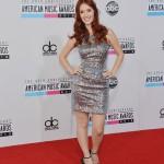 Meg Turney American Music Awards 2012 Red Carpet