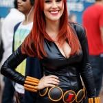 Meg Turney Black Widow Cosplay Front