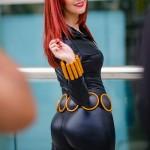 Meg Turney Cutiepie Black Widow Cosplay