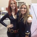 Meg Turney Black Widow With Friends Cosplay Girls