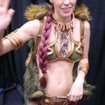 Meg Turney Princess Leia Cosplay Wave