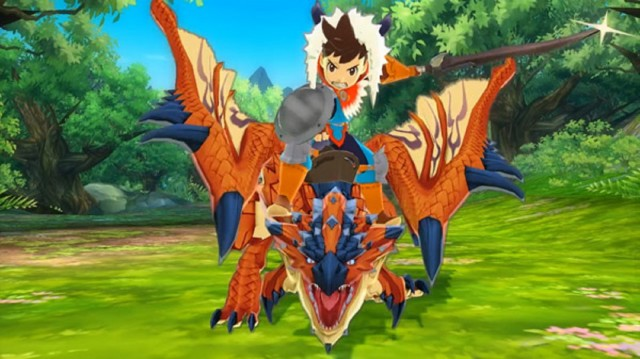 Monster Hunter Stories Screenshot Riders 3DS