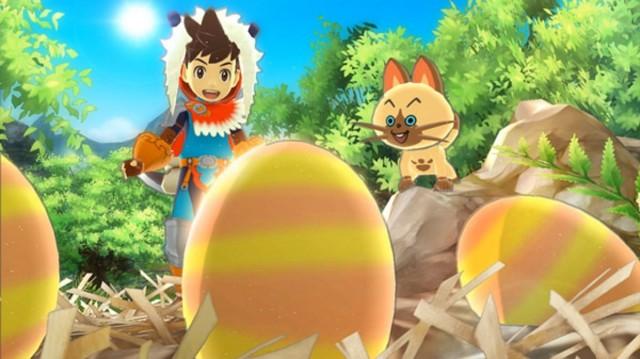 Monster Hunter Stories Screenshot Eggs Be A Hatchin 3DS