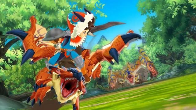 Monster Hunter Stories Screenshot Hear My Roar 3DS