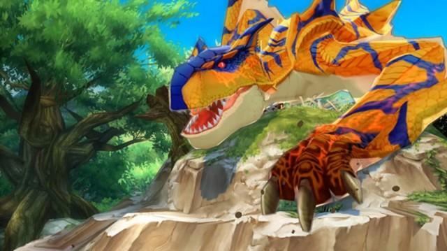 Monster Hunter Stories Screenshot On the Prowl 3DS