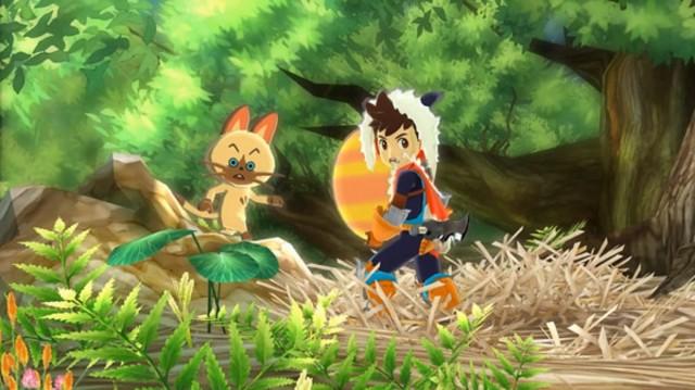 Monster Hunter Stories Screenshot Spooked 3DS