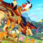Monster Hunter Stories Screenshot Through Flowering Fields 3DS