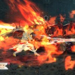 Tales of Zestiria Gameplay Screenshot Battle Fire