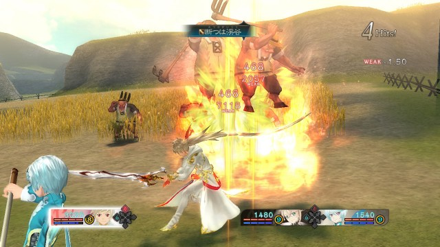 Tales of Zestiria Ogre Battle Gameplay Screenshot