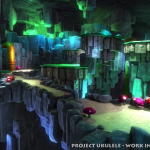 Yooka Laylee Cave Environment Artwork