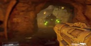 Doom 2016 Rocket Launcher Glowing Green Enemy Gameplay Screenshot