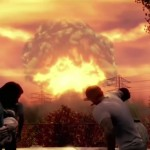 Fallout 4 Nuclear Bomb Blast Movie Scene Xbox One PS4 PC E3 2015 Bethesda Press Conference