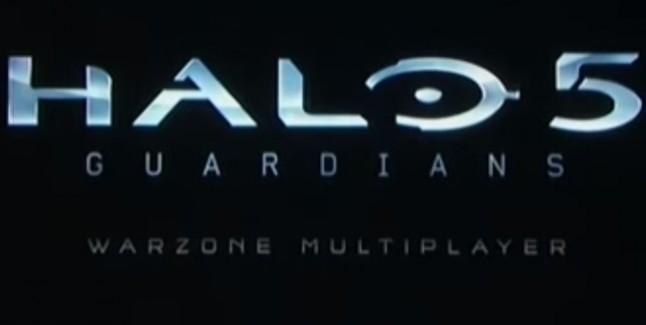 Halo 5 Guardians Warzone Multiplayer Logo