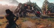 Horizon Zero Dawn Dinosaur Capturing Gun Pining It Down Gameplay Screenshot PS4