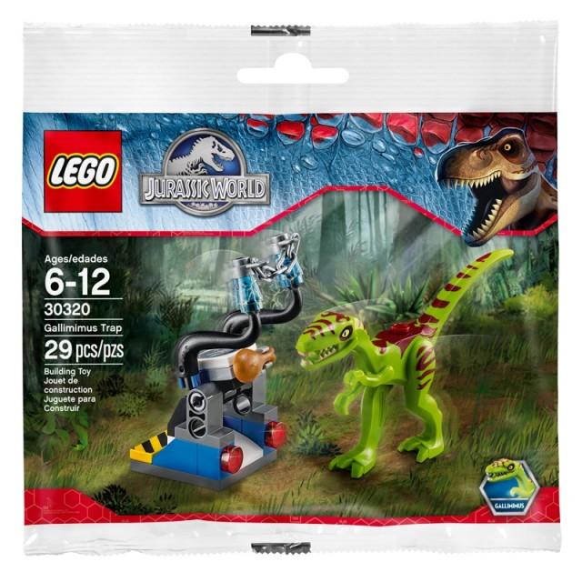 Lego Jurassic World: Gallimimus Edition pre-order bonus