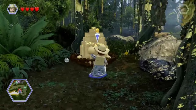 Lego Jurassic World Red Brick 10: Amber Brick Detector Location