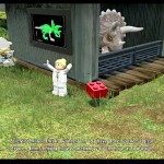 Lego Jurassic World Red Brick 17: Nedry Disguises Location