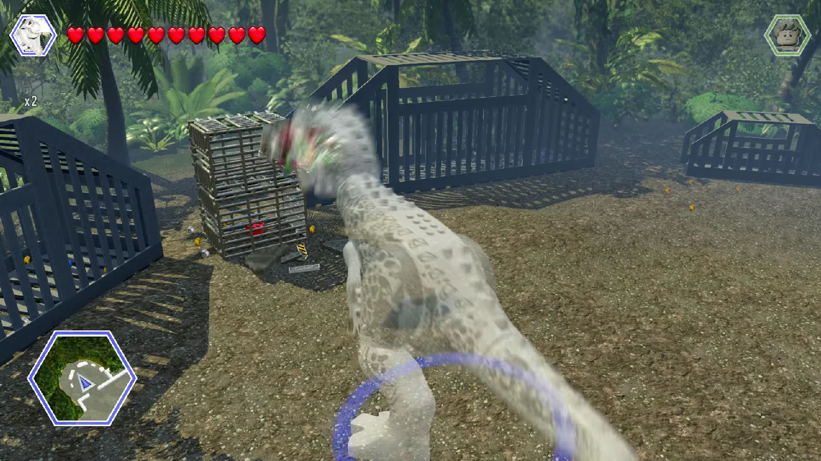 Lego Jurassic World Red Brick 5: Studs x10 Location