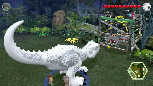 Lego jurassic world red bricks locations guide lego jurassic world red brick 8 red brick detector location gumiabroncs Image collections