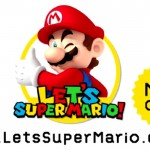 Let's Super Mario Artwork Official Logo