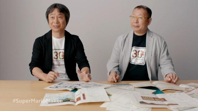 Making of Super Mario Bros Miyamoto Tezuka Graph Paper Relics