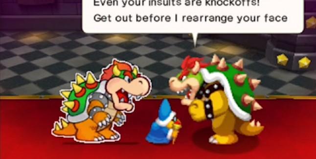 Mario & Luigi Paper Jam Bowser vs Bowser Gameplay Screenshot 3DS