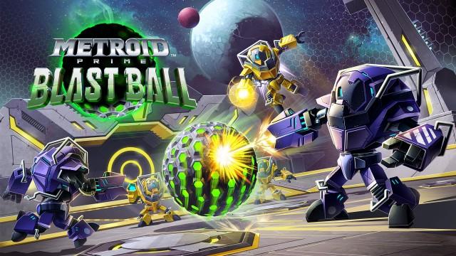 Metroid Prime Blast Ball Artwork Federation Force 3DS Nintendo Official