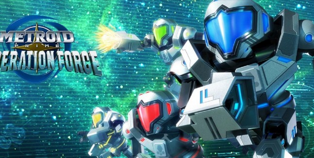 Metroid Prime Federation Force Team Artwork 3DS Official Nintendo