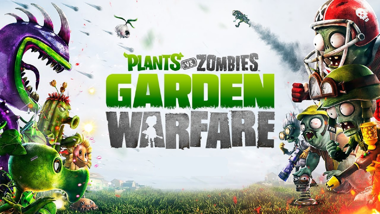 Plants Vs Zombies Garden Warfare Wallpaper Official Artwork