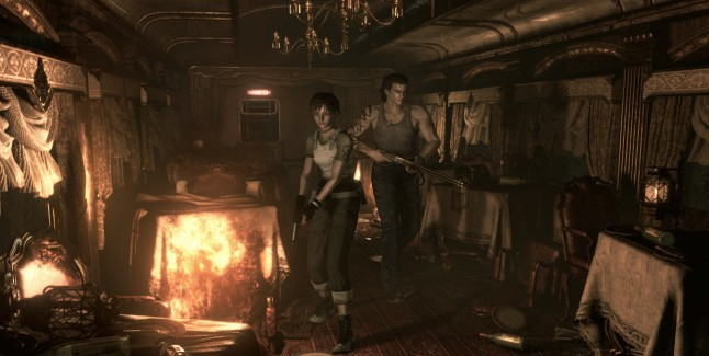 Resident Evil 0 HD Remaster screenshot