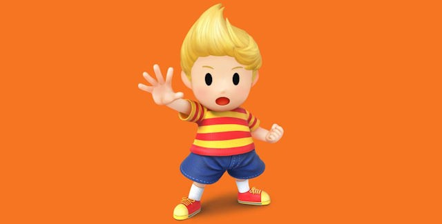 Super Smash Bros Wii U & 3DS Lucas artwork