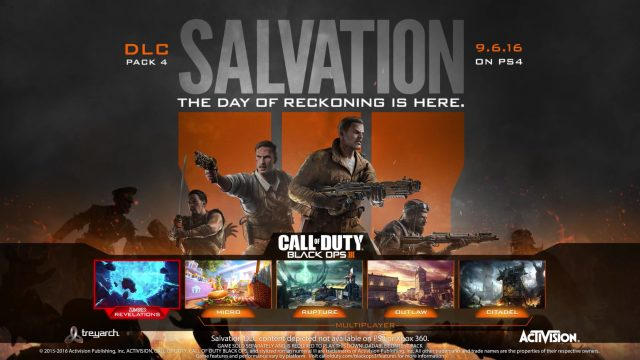 Call of Duty: Black Ops 3 DLC Pack 4 Salvation