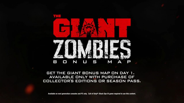 "Call of Duty: Black Ops 3 - ""The Giant"" Zombies Bonus Map logo"