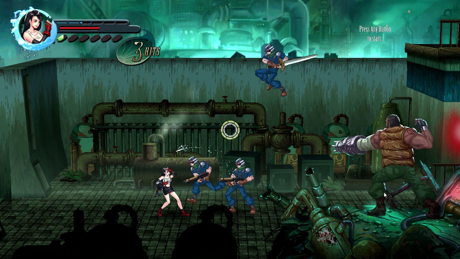 Final Fantasy VII Reimagined Barret Gunshots Gameplay Screenshot PC