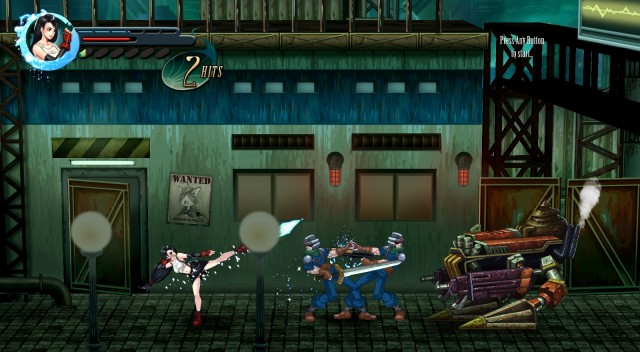 Final Fantasy VII Reimagined Tifa Kick Gameplay Screenshot PC