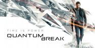 Quantum Break Banner Logo Artwork