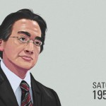 Iwata RIP Cartoon Portrait Fanart by NeoGAF Member Phileep