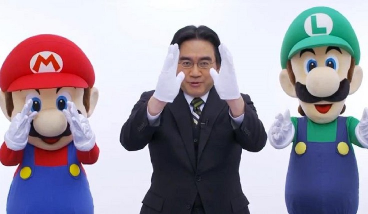 Iwata Directly To You With Mario Luigi