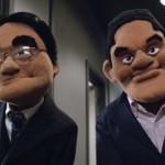 Satoru Iwata Puppet With Reggie E3 2015