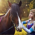 Legend of Epona Cosplay Horse Sense Zelda Starring Rubeeamadare by Akami777