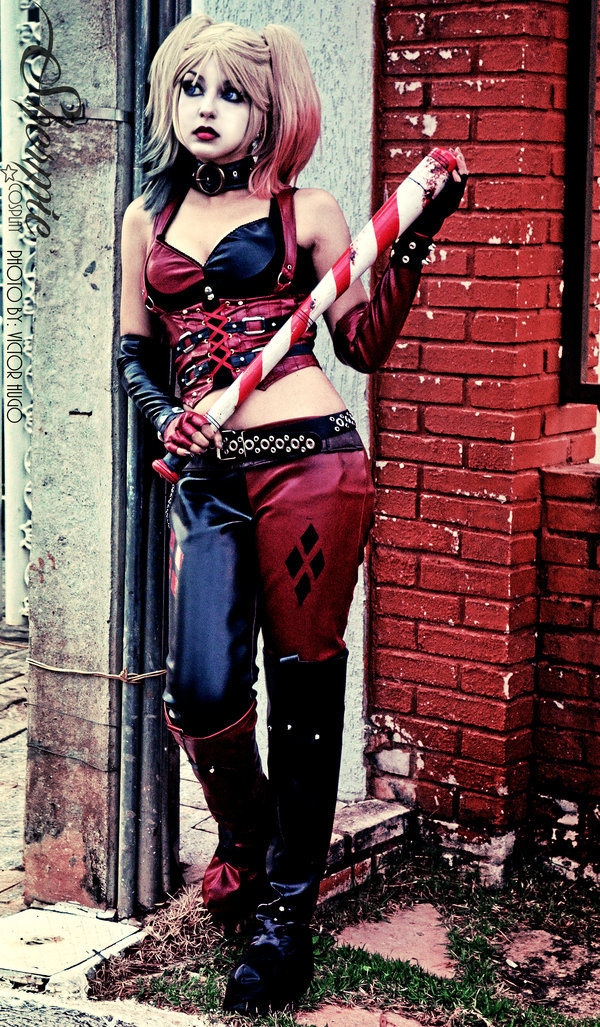 Harley Quinn Shermie Cosplay Candy Cane Candy Cane By Sweet Little World