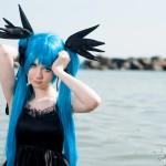 Miku Cosplay Oceanwaves by TraumaticCandy