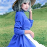 Amie Lynn Sophie Cosplay Howls Moving Castle Gorgeous