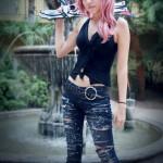 Amie Lynn Aya Brea Lightning Cosplay Crossing Characters
