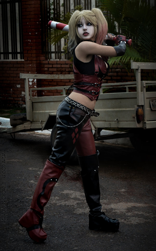 Harley Quinn Shermie Cosplay A Cat Kill It by Sweet Little World