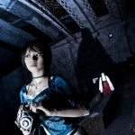 Fatal Frame Cosplay Hand Maiden Haunts Rei Starring Audreyssee and Yefa by Kirahokuten Photography